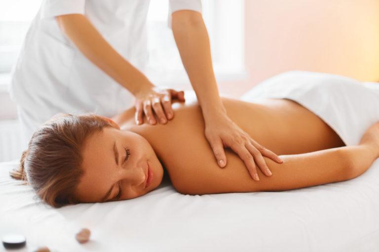 körperliche Entspannung: Massagen